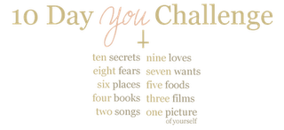 10 Day You Challenge & Six Places