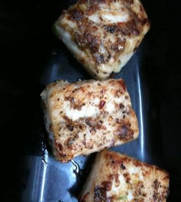 Pan Roasted Chilli Garlic Balsamic Fish