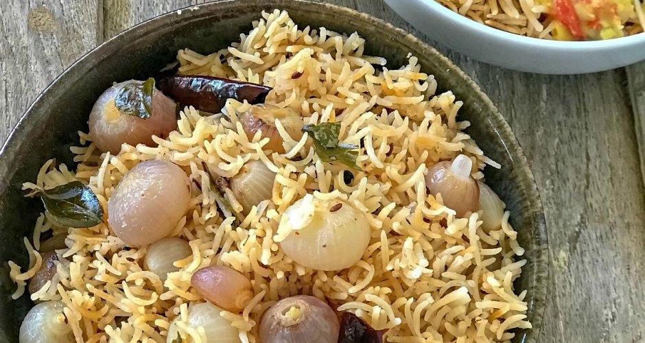 Onion Pulao