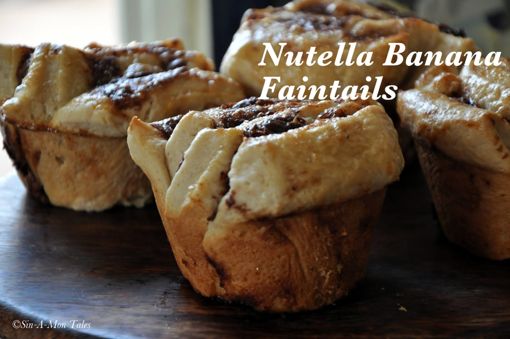 nutella banana fantails