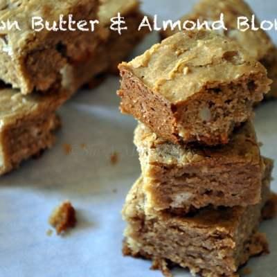 Brown Butter & Almond Blondies