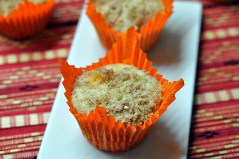 apple and orange muffins