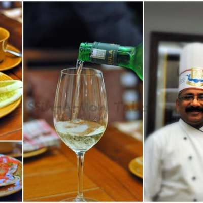 Chef  J  P  Singh of Bukhara at The Royal Afghan, ITC Windsor