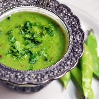 Nimona : Banarsi Style Mashed Green Peas Curry