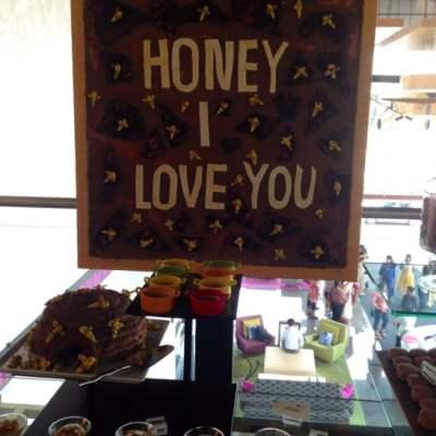 Honey I love you at Aloft