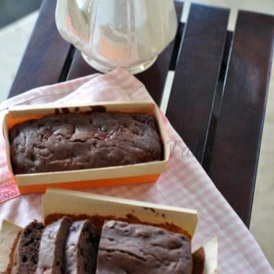 Double Chocolate Strawberry Loaf