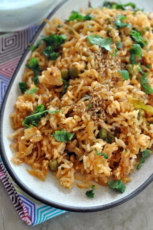 spicy cabbage rice