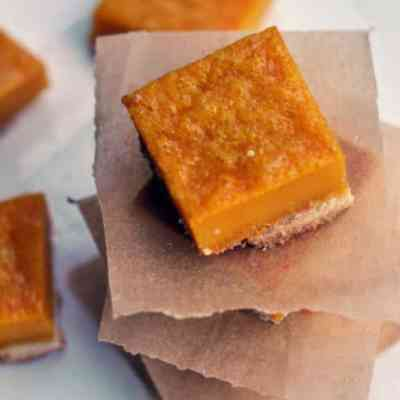 Mango Lemon Bars – Little Bites Of Heaven!