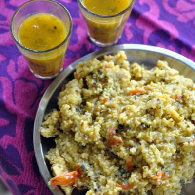Mixed Millet Khichdi
