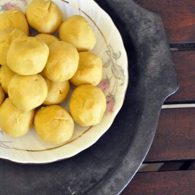 Diwali Special Moong Dal Ladoos