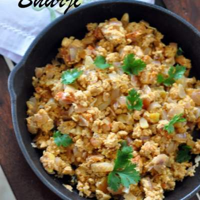 Indian Style Scrambled Eggs (Anda Bhurji)