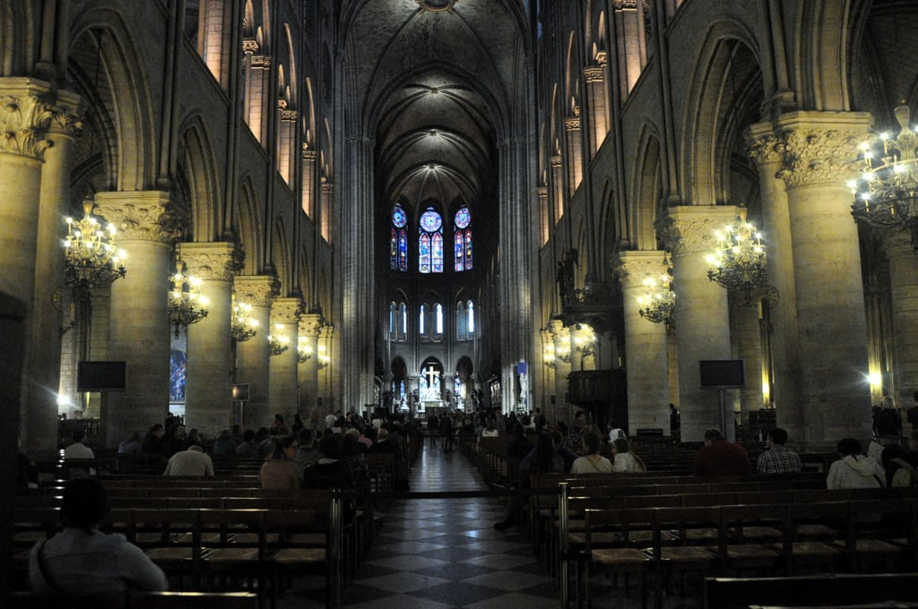 The Notre Dame - inside