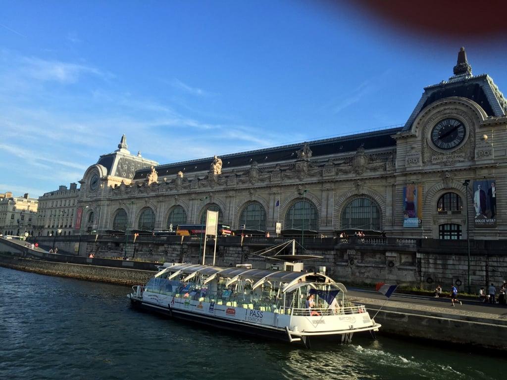 Cruise on River Siene