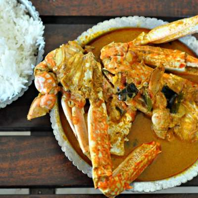 Nandu Kuzhambu – Chettinad Crab Curry