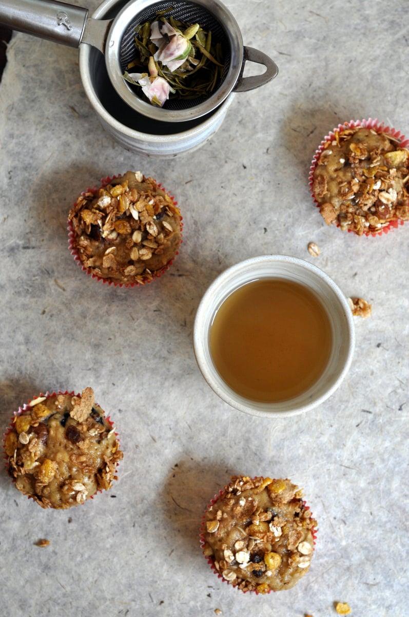 Cherry Muesli muffins with Muesli Streusel 1
