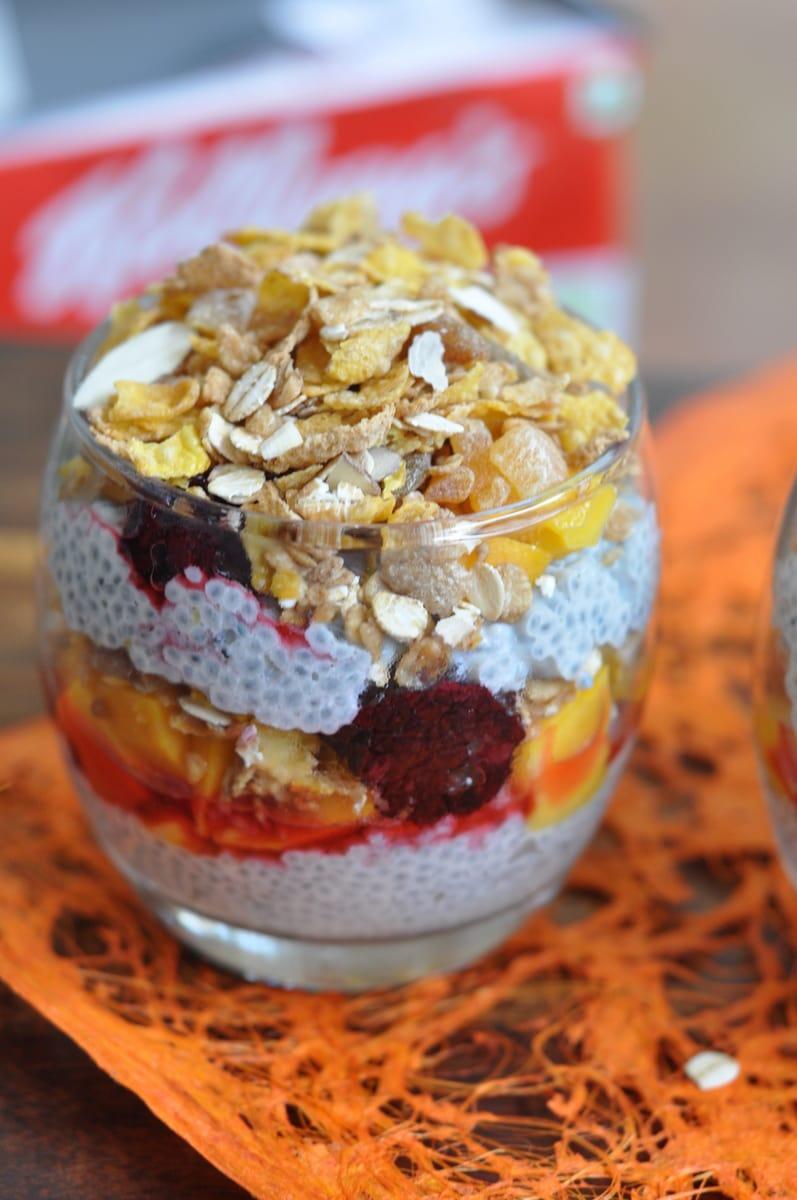 Chia Seeds & Muesli Parfait