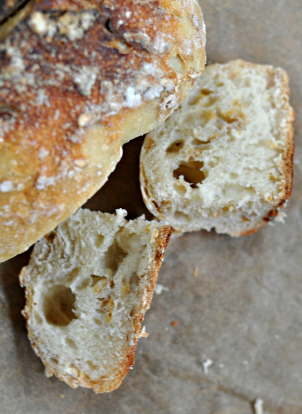 No Knead Muesli Dutch Oven Bread 2
