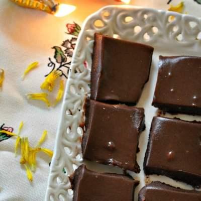 Chai Masala Chocolate Fudge