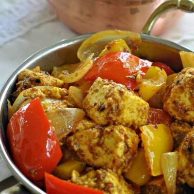 Kadhai Paneer   Cottage Cheese & Bell Pepper Stir Fry