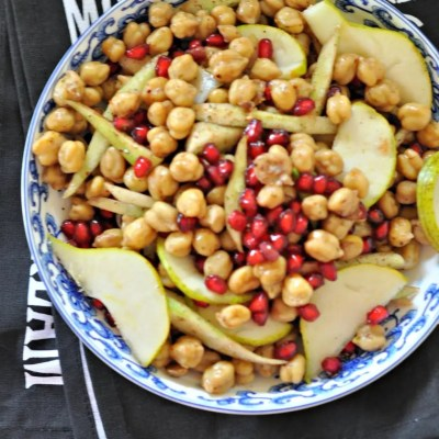 Chickpeas and Fruit Salad