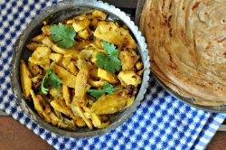 Crispy Punjabi Arbi