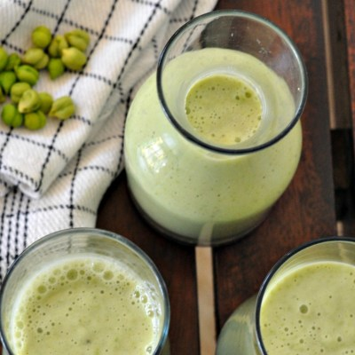 Green Gram Smoothie | Fresh Garbanzo Beans Smoothie