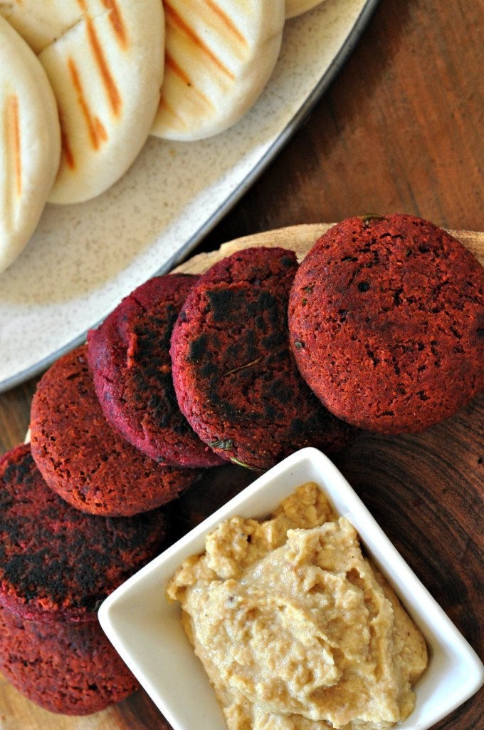 Healthy Beetroot Falafel