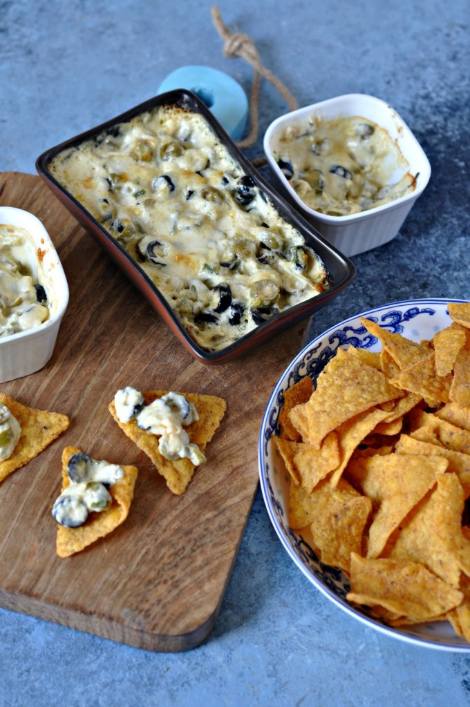 Cheese and Olive Dip