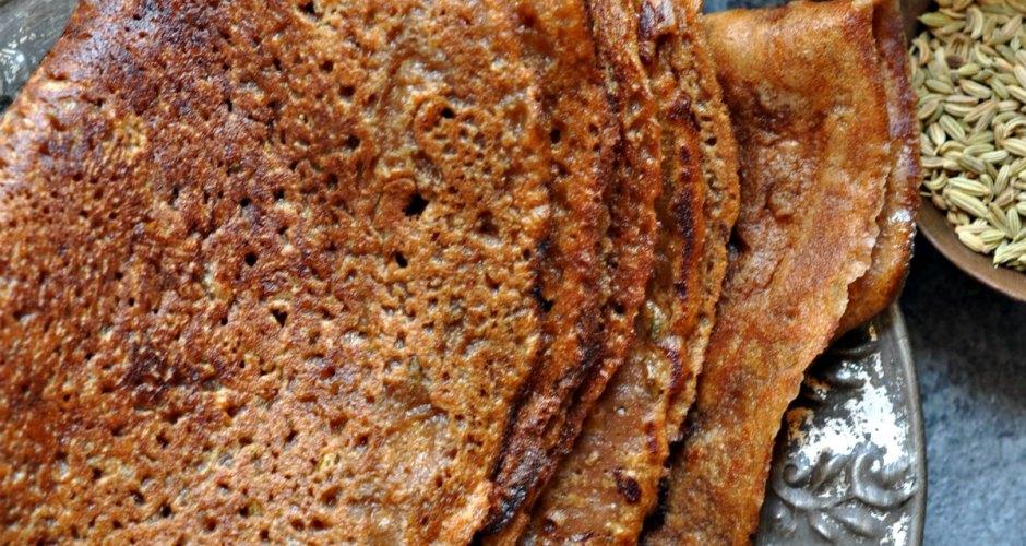 Gud aur Saunf Walla Atta ka Cheela – Granny's Recipe
