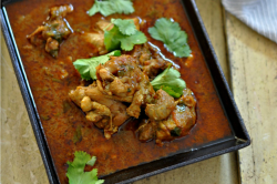 Punjabi style Chicken Curry