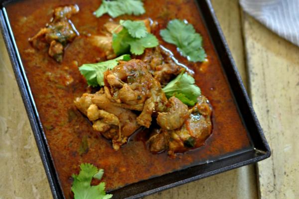 Punjabi style Chicken Curry