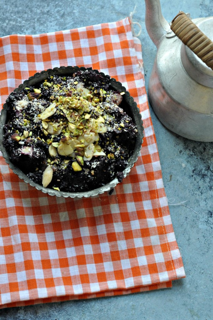 Black Carrot Halwa