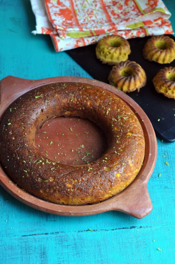 Mango Chia Seeds Cake