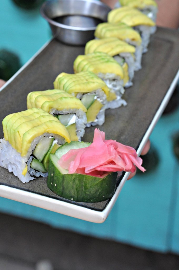Avocado Maki roll