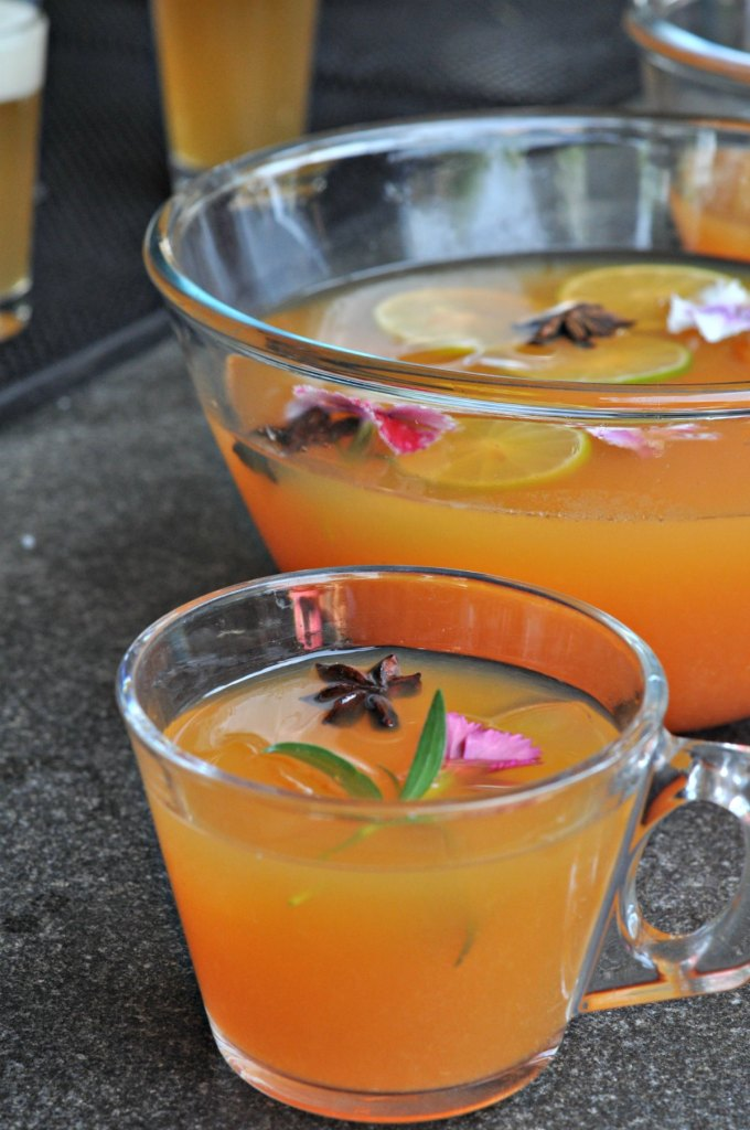 Fruit Punch with alcohol