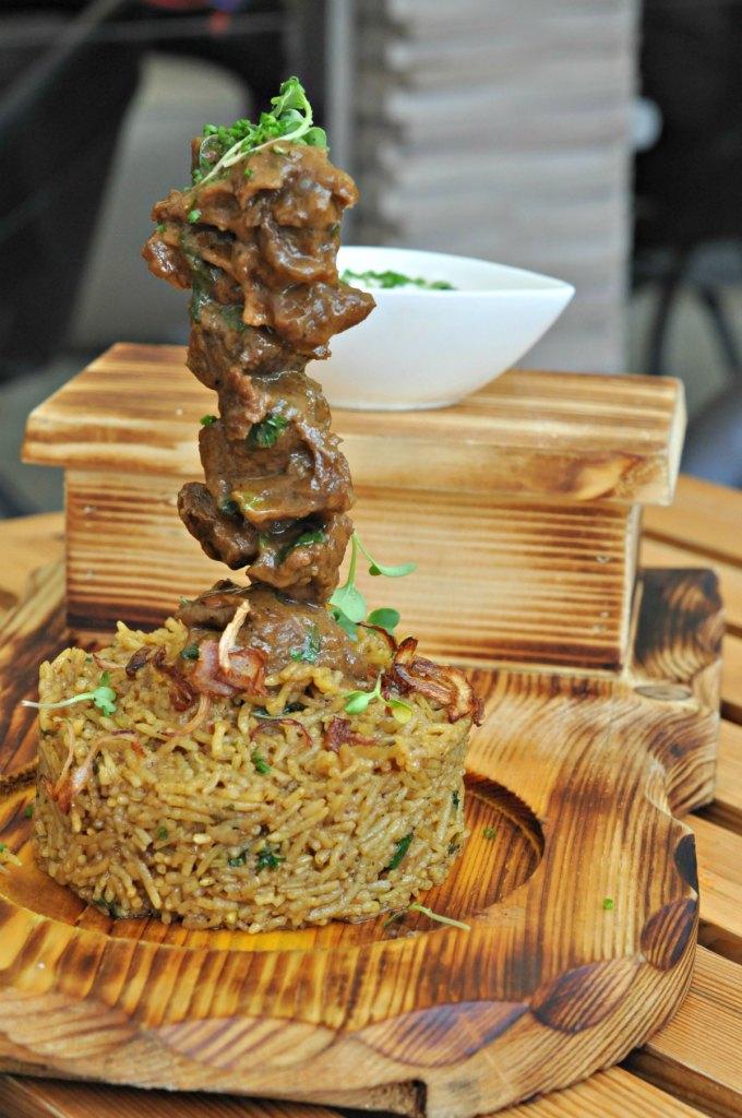 Mutton Shawarma and Biryani