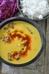 How to make raw mango kadhi