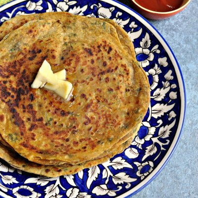 Avocado Cheese Parantha – Easy, healthy tiffin box recipe !