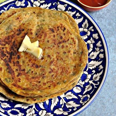 Avocado Cheese Parantha – Easy, healthy tiffin box recipe !