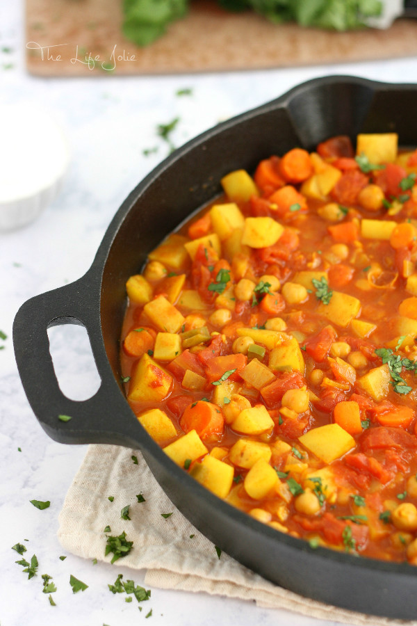 Moroccan Chickpeas Stew