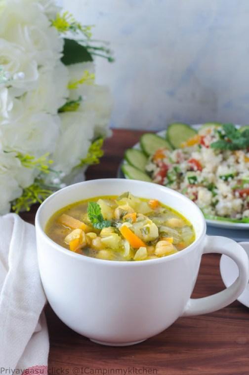 greek chickpeas soup