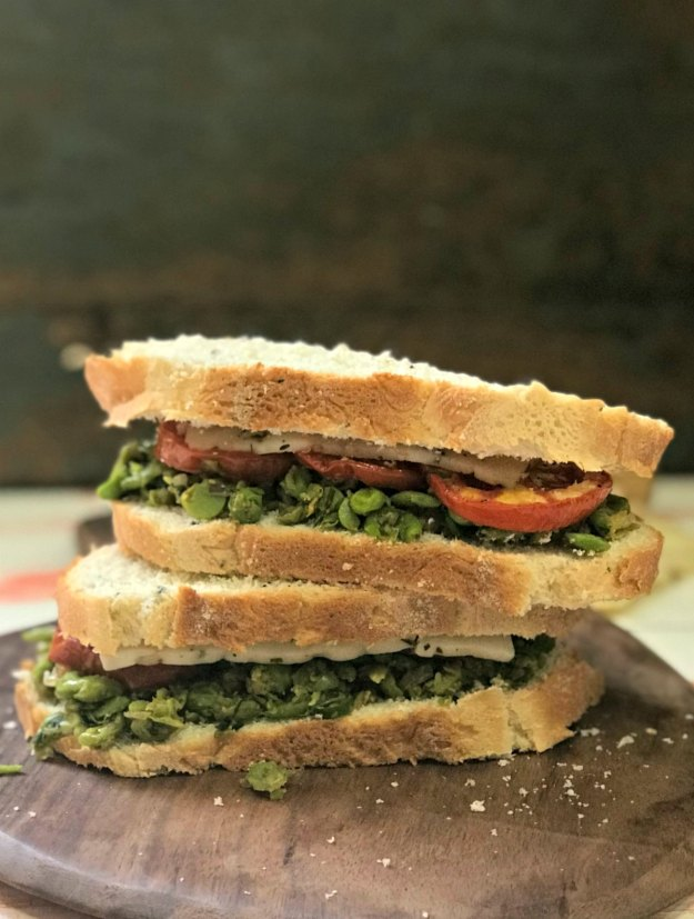 perfect winter sandwich