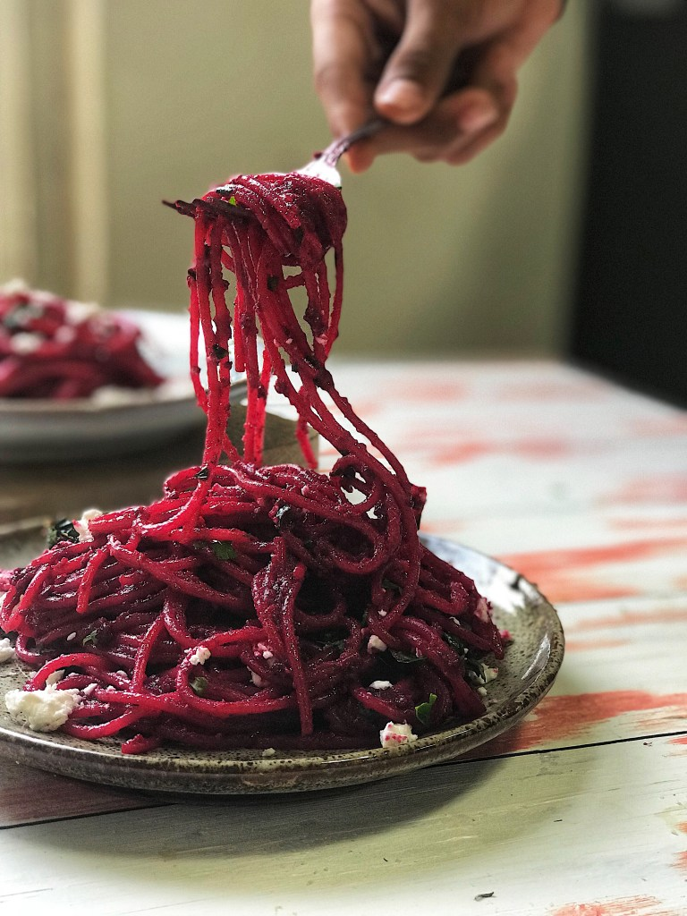 How to make beetroot pasta