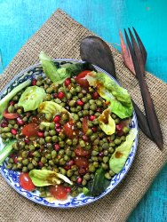 Cholia Anar Salad