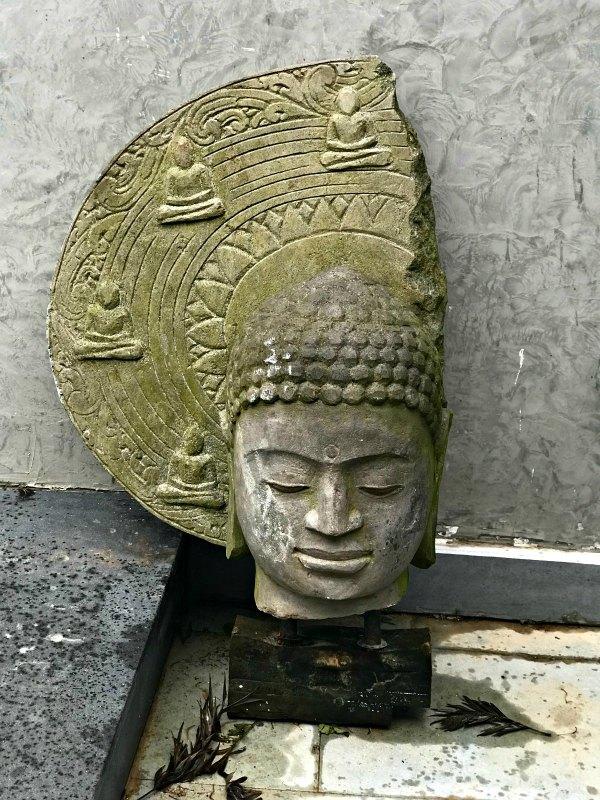 broken buddha