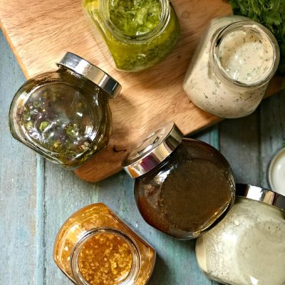 Salad Dressing 101 and Recipes for Six Killer Dressings