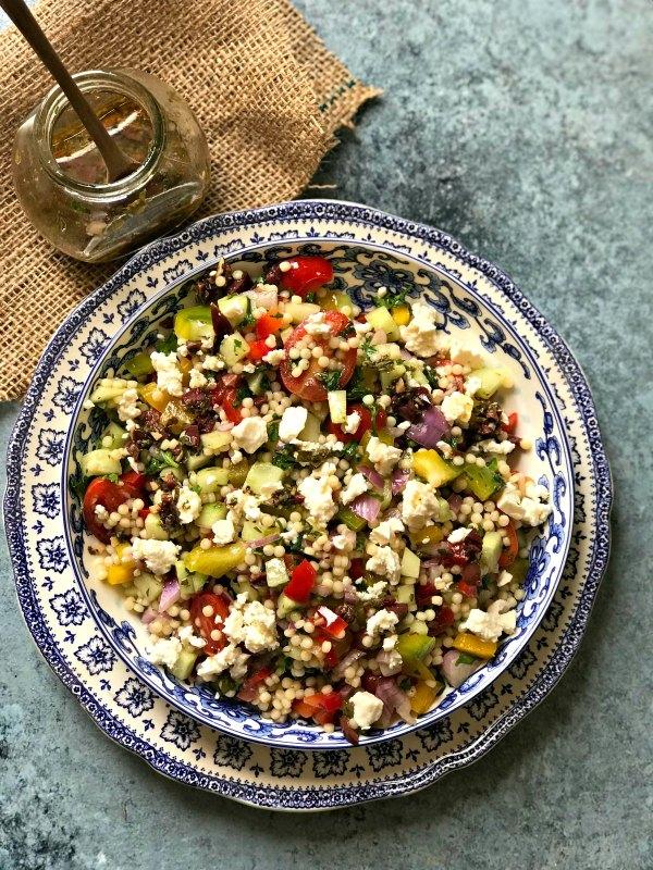 Israeli Summer Salad