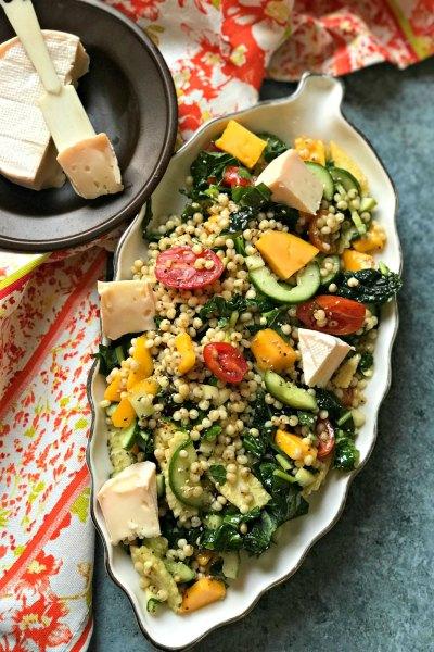 Gluten Free Jowar Salad with Mango and Kale