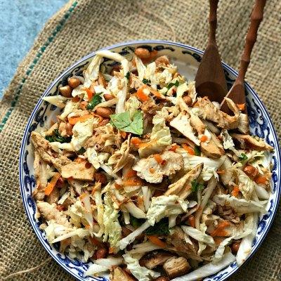 Keto Friendly High Protein Vietnamese Chicken Salad