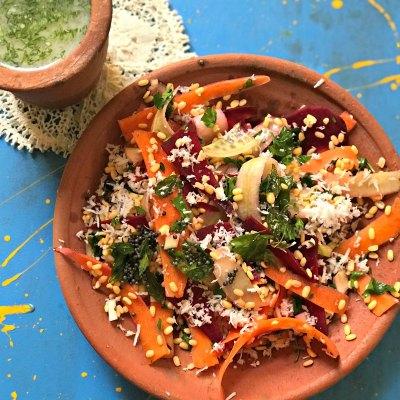 Moong Dal Kosambari – The Real Indian Salad